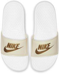 Nike - Benassi Jdi Sheen Slide - Lyst