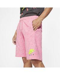 Nike Short imprimé Sportswear pour - Rose