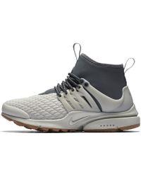 89ef7bc66a791 Nike - Air Presto Mid Utility Premium Women s Shoe - Lyst