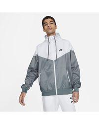 Nike Giacca con cappuccio Sportswear Windrunner - Grigio