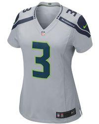 Nike - Nfl Seattle Seahawks (russell Wilson) Women s Football Alternate Game  Jersey - Lyst 9fe47b4f2