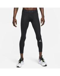 Nike Jordan Dri-fit Air 3/4-length Tights Black