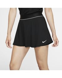 Nike Court Dri-FIT -Tennisrock - Schwarz