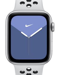 Nike Apple Watch Series 5 (gps + Cellular) With Sport Band 40mm Silver Aluminium Case - Metallic