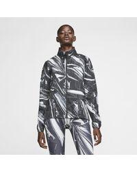 Nike Shield Full-zip Running Jacket - Black