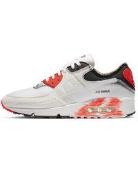 Nike Scarpa Air Max 90 Premium - Bianco