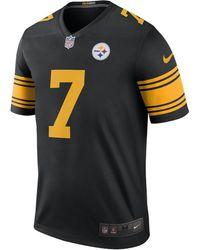 6adda221b Nike - Nfl Pittsburgh Steelers Color Rush Legend (ben Roethlisberger) Men s  Football Jersey -