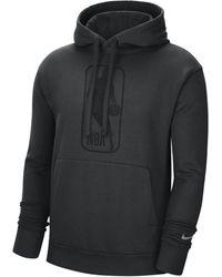 Nike Felpa pullover con cappuccio Team 31 Courtside NBA - Nero
