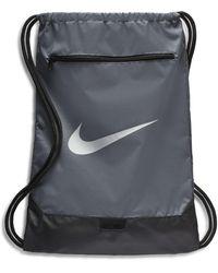 Nike Brasilia Sportbeutel - Grau