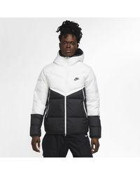 Nike Sportswear Down-fill Windrunner Jacket - White