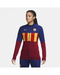 Nike - Veste de survêtement de football FC Barcelona Anthem pour - Lyst
