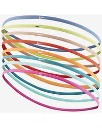 Nike Skinny Headbands (8 Pack) - Multicolor