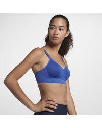10d639a2fd410 Nike - Indy Breathe Women s Light Support Sports Bra - Lyst