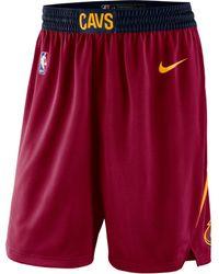 Nike Shorts Cleveland Cavaliers Icon Edition Swingman NBA - Rosso