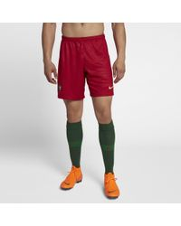 a05956847dc5 Nike 2018 Portugal Stadium Home away Men s Football Shorts in White ...