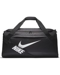 Lyst - Nike Vapor Max Air Training Duffel in Black for Men 872fa38d4110c