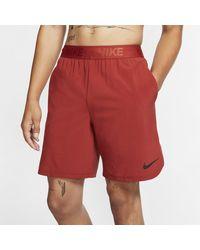 Nike Flex -Trainingsshorts (ca. 20,5 cm) - Rot