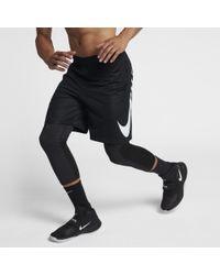 Nike -Basketballshorts (22,9 cm) - Schwarz