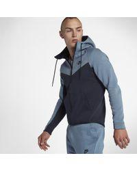 04a2295dfd Lyst - Nike Sportswear Tech Fleece Windrunner Men s Full-zip Hoodie ...