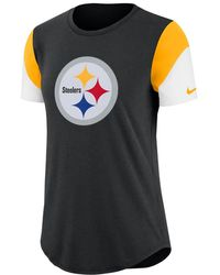 c45921f0eff4 Lyst - Nike Women s Pittsburgh Steelers Dri-fit Performance Tank Top ...