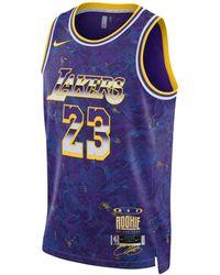 Nike Maglia LeBron James Select Series NBA - Viola