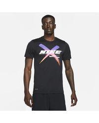 Nike - Dri-fit Graphic Training T-shirt Black - Lyst