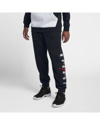 d765323a699 Nike Jumpman Brushed Tapered Sweatpants in Blue for Men - Lyst