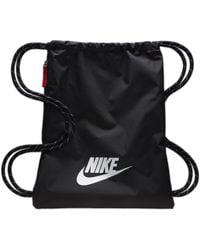 Nike Heritage 2.0 Trainingsbeutel - Schwarz