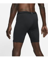 Nike Tights da running a metà lunghezza AeroSwift - Nero