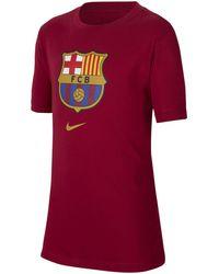 Nike FC Barcelona T-Shirt - Rot