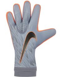 Nike Goalkeeper Mercurial Touch Victory Football Gloves - Blue