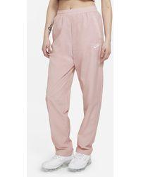 Nike Air Damenhose aus Webmaterial - Pink