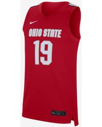 Nike - College (ohio State) Basketball Jersey - Lyst