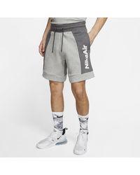 Nike Air Fleece-Shorts für - Grau