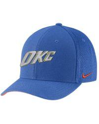f4bf087f25c Nike - Oklahoma City Thunder City Edition Classic99 Nba Hat (blue) -  Clearance Sale