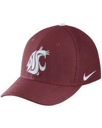 Nike - College Classic 99 Swoosh Flex (washington State) Fitted Hat - Lyst