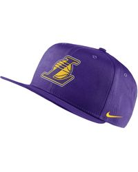 Nike Cappello Los Angeles Lakers Pro NBA - Viola
