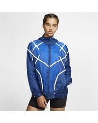 Nike - City Ready Hooded Running Jacket - Lyst