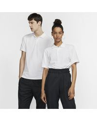 Nike Polo Slim Fit The Polo (Without Orange Collar Label) - Bianco