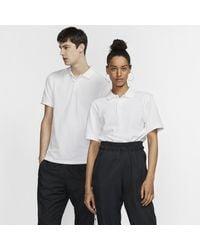 Nike Polo coupe slim The Polo (Without Orange Collar Label) pour - Blanc