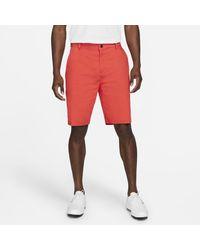 Nike Dri-fit Uv Chino Golfshorts - Rood