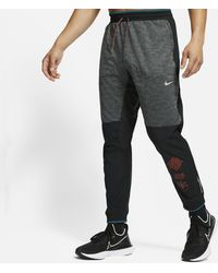 Nike Phenom Elite Wild Run Knit Running Trousers Black