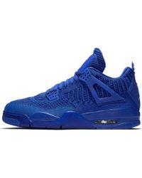 Nike - Air Jordan 4 Retro Flyknit Shoe - Lyst