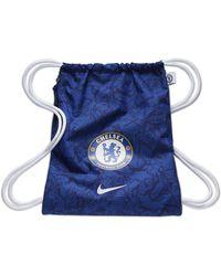 Nike Sacca da palestra Chelsea FC Stadium - Blu