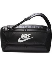Nike Brasilia wandelbare Trainings-Sporttasche/Rucksack - Schwarz