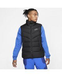Nike Sportswear weste mit Daunenfüllung - Schwarz
