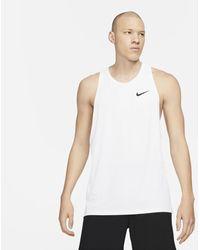 Nike Pro Dri-fit Tank - White