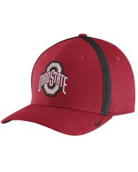 Nike | College Aerobill Sideline Coaches (ohio State) Adjustable Hat (red) | Lyst