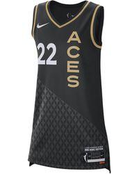 Nike Maglia Victory Dri-FIT WNBA A'ja Wilson Aces Rebel Edition - Nero