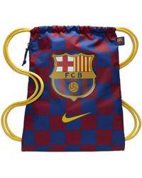 Nike Sacca da calcio FC Barcelona Stadium - Blu